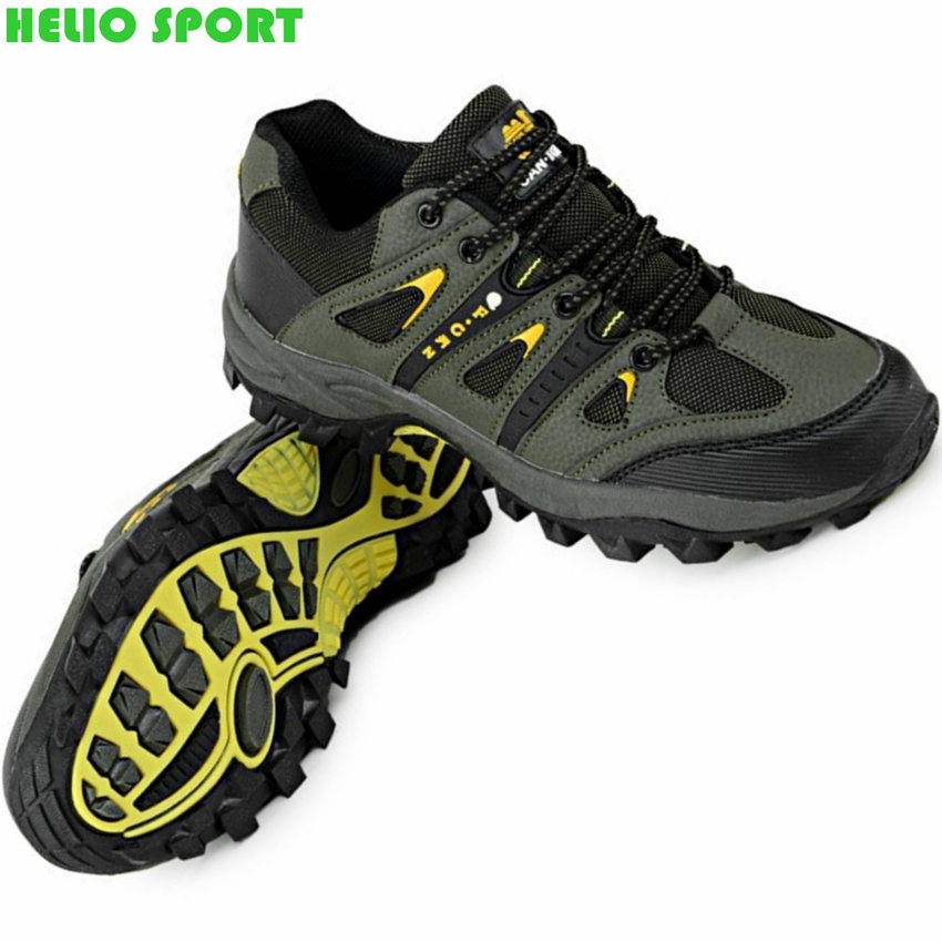 men outdoor hiking athletic shoes waterproof hunting trekking outventure breathable leather climbing boots shoes senderismo bota(China (Mainland))