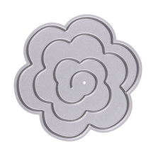 Flower Metal Decorative Paper Cutting Dies Template for DIY Scrapbooking/photo Album Craft Embossing Folder Stencil Cutting Dies(China (Mainland))