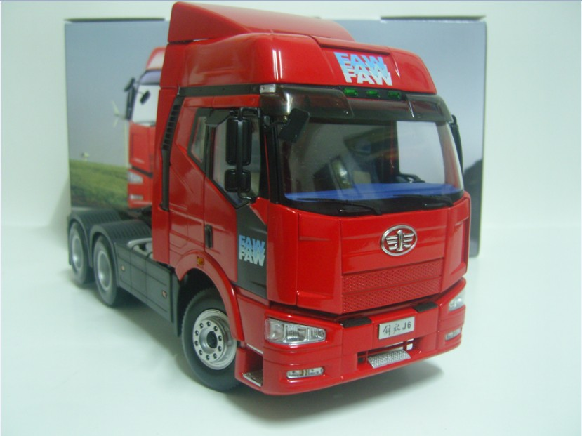 William cars - faw j6 tractor trailer car model(China (Mainland))
