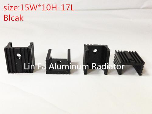 Aluminium Profile System ./Aluminium Profile System .Transistor heatsink.Model: TO-220 .21*15*10white .<br><br>Aliexpress