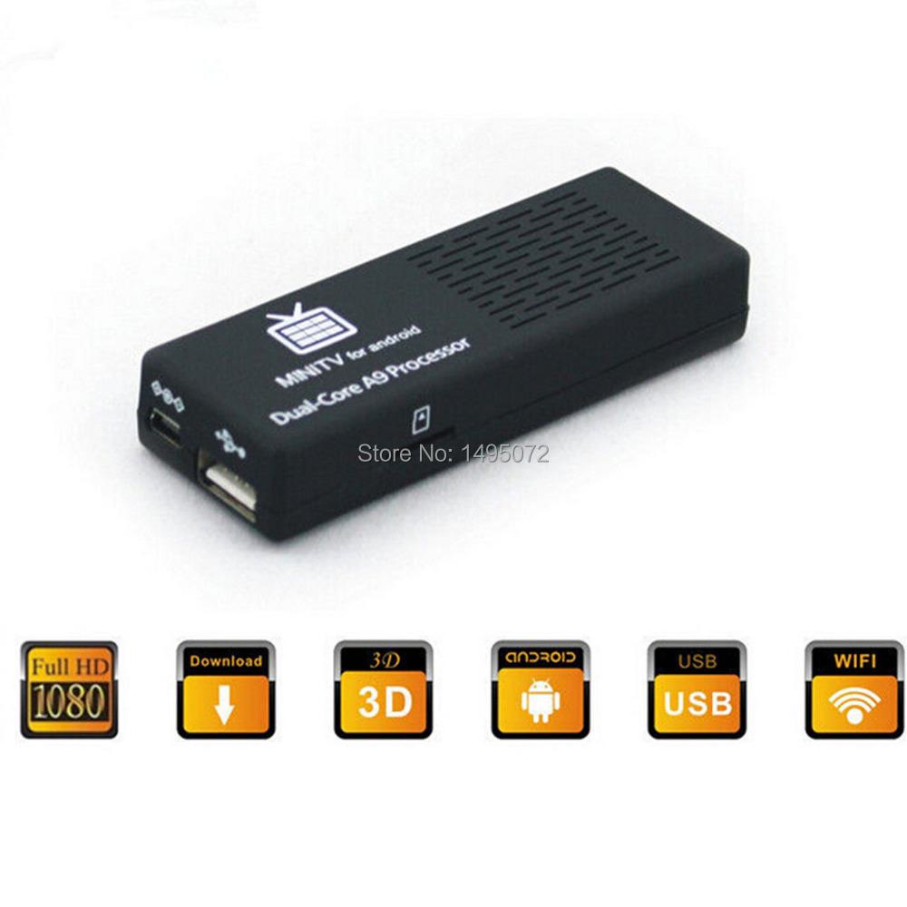 Original MK808B Android 4.2.2 kitkat TV dongle Stick Rockship RK3066 Dual Core RAM 1GB ROM 8GB TV box Bluetooth XBMC Airplay(China (Mainland))