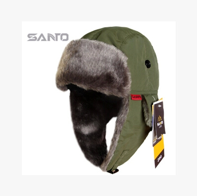 Men And Women Outdoor Hat Warm Windproof Ultra light Hat for Winter (Chapeu de inverno) Free Size 60CM(China (Mainland))