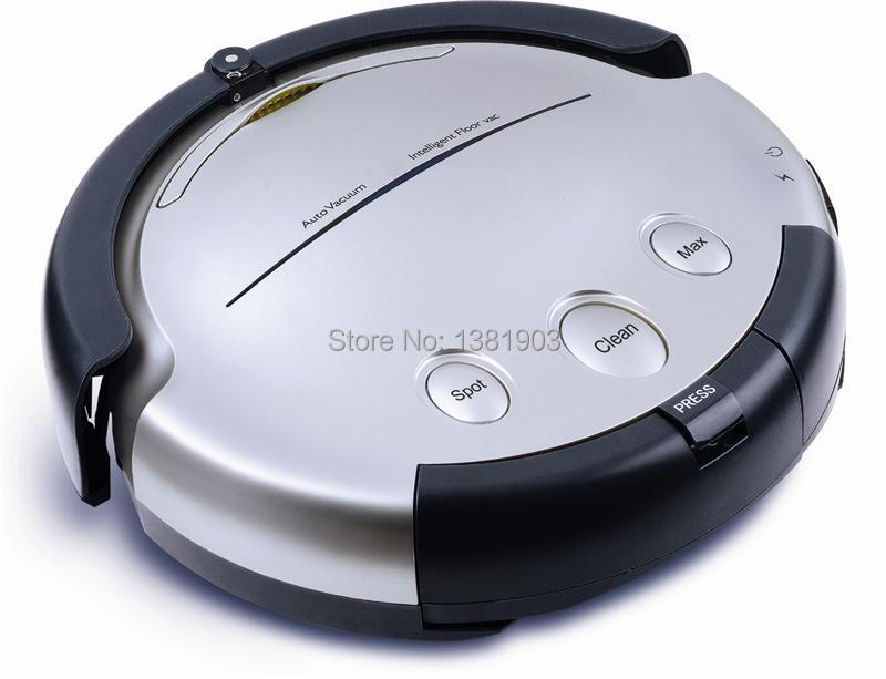 best selling robot vacuum cleaner with remote control,auto charging,Mop function,suction Model No.EG-H688 silver(China (Mainland))