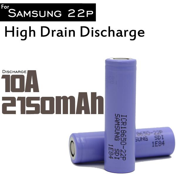 Original 4Pcs/Lot 18650 3.7v Li Ion Battery Rechargeable Batterise For Samsung ICR18650-22P For Power Bank LED Flashlight ..(China (Mainland))