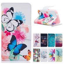 Buy Colorful Butterfly Case Samsung Galaxy J1 Nxt J1 mini 2016 J105 J105H J105F Wallet Leather Cover Flip Phone Case Card Holder for $3.08 in AliExpress store