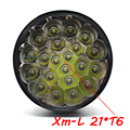 XM L21 x T6 LED 35000 lumens High power 5Modes Glare flashlight Torch Working lamp floodlight