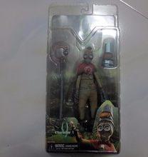 [Funny] Original 7 polegada 18 cm NECA anime Tim Burton 9 nove Movendo Modelo PVC Action Figure Toy para Numero9/Nove/9 coleção modelo(China)