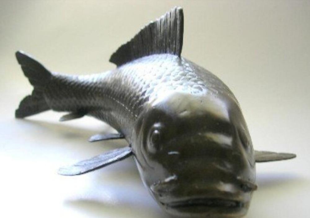 Achetez en gros japonais bronze statue en ligne des for Grossiste carpe koi