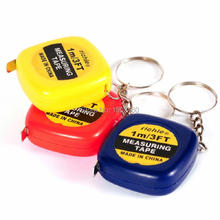 Sewing ruler metre ruban centimeter Portable mini keychain 1 meter measuring tape  soft tape meter tape measure