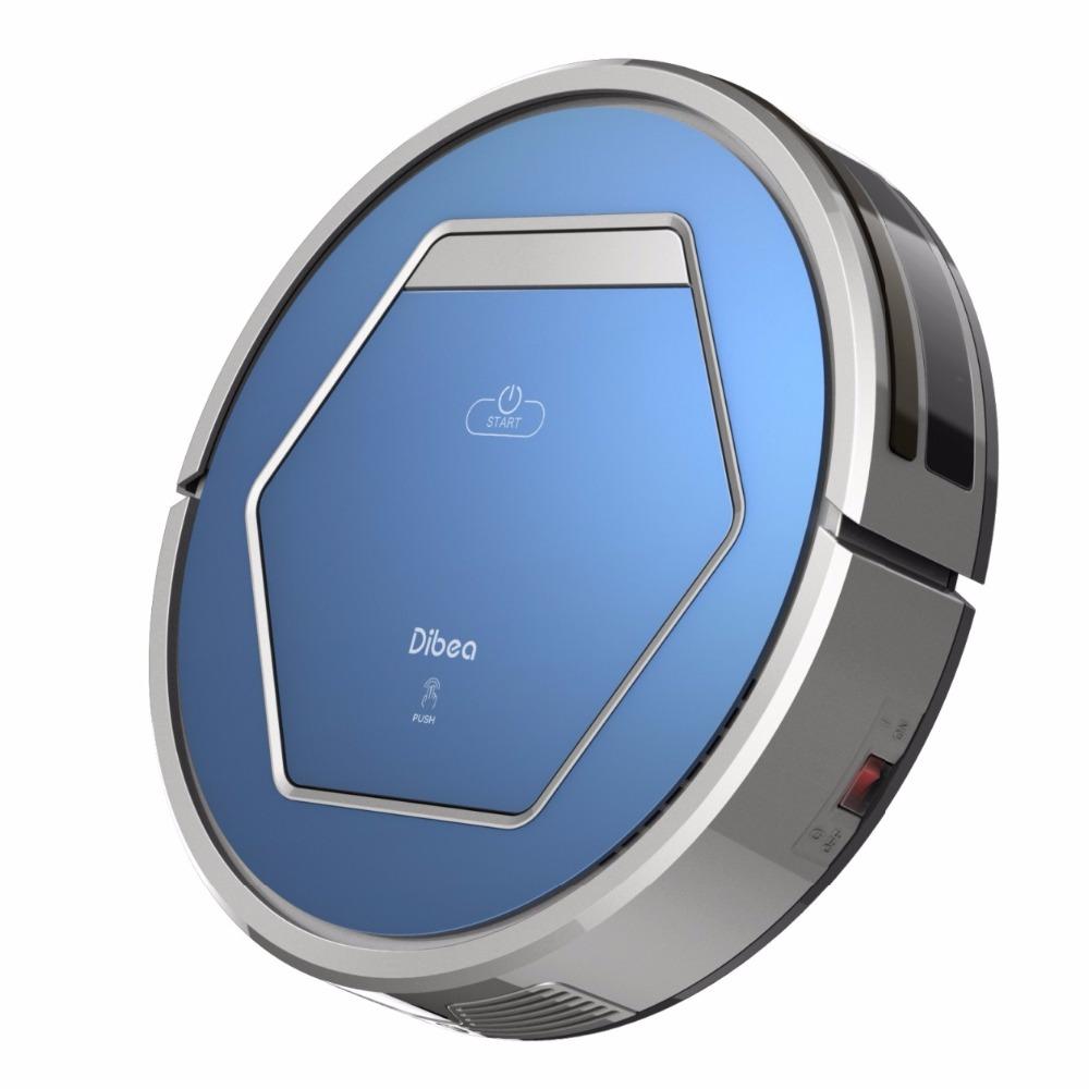 Dibea ZN808 Robot Aspirador Vacuum Cleaner UV Disinfection Appliance Household Hepa Filter Wet Dry Mop Recharging(China (Mainland))
