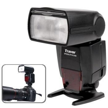 2.2 inch LCD Display Travor Speedlite Camera Flash Light Canon Nikon DSLR Cameras SL568 - Fuzhou Microfilm Solution Co.,ltd store