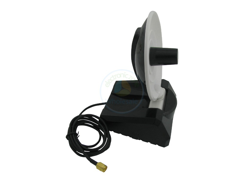 10pcs 8dBi 2.4GHz Dish High Gain Booster RP-SMA WiFi Antenna for Asus RT-N66U RT-AC66U(China (Mainland))