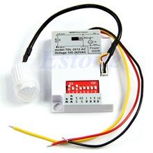 HOT Luces Infrarrojos IR Módulo Sensor Cuerpo Inteligente Interruptor de Luz Con Sensor De Movimiento