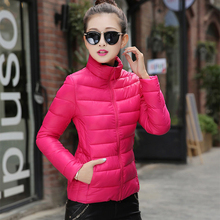 13 Colors 2016 NEW Women Coat Fashion Autumn Winter Women Jacket Female Parkas Casual Basic Jackets Padded plus size S-XXXL