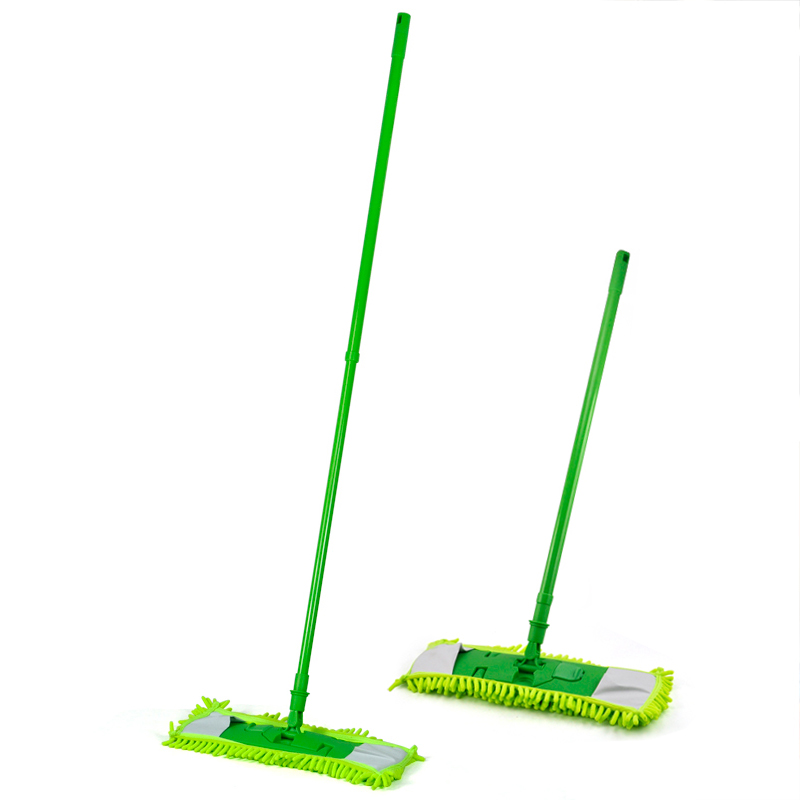 SDFC Extendable Microfibre Mop Cleaner Sweeper Wooden Laminate Tile Floor Wet Dry(China (Mainland))