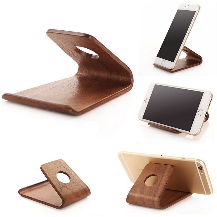 online kaufen gro handel wooden phone holder aus china wooden phone holder gro h ndler. Black Bedroom Furniture Sets. Home Design Ideas