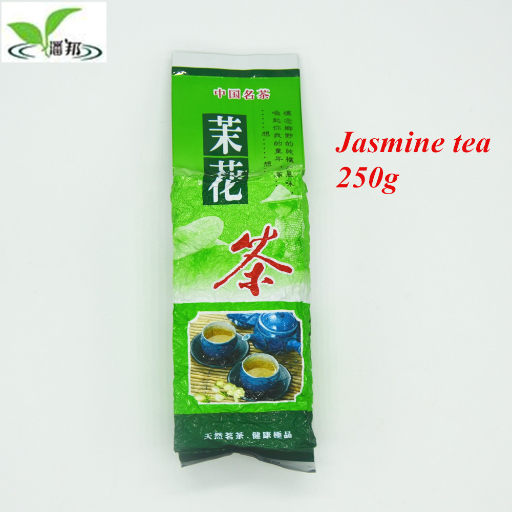 Hot sale ! 2016 Top grade Real Organic new early Spring Chinese Green Tea jasmine Flower Tea 250g the tea mo li hua cha<br><br>Aliexpress