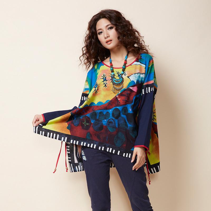 BOHOCHIC Vintage Bohemian Original Design National Ethnic Women Shirt Plus Size Femle Tops Summer Style XY0008X Boho ChicОдежда и ак�е��уары<br><br><br>Aliexpress