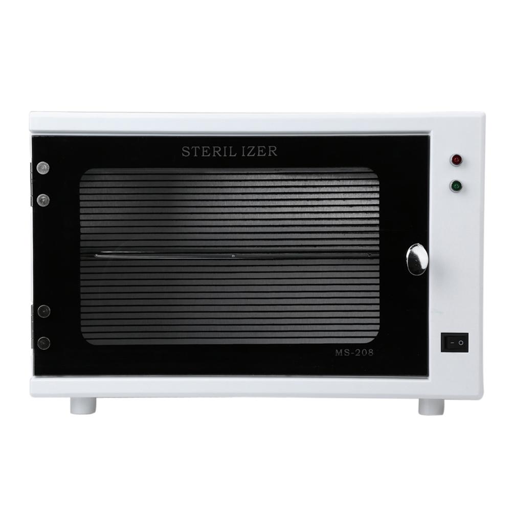 Hot Sale Sterilizer Cabinet Professional 10W UV Sterilizer Nail Towel Warmer High Quality Beauty Salon Machine 110V US Plug(China (Mainland))