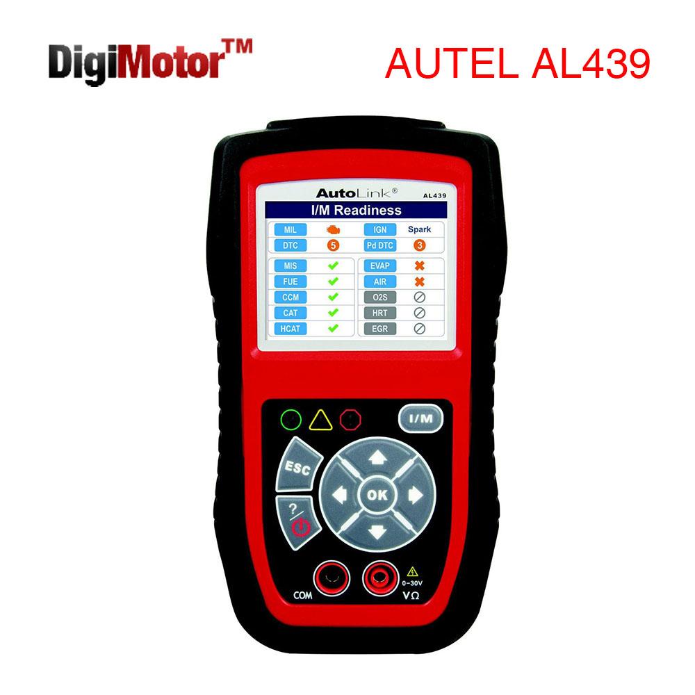 Autel AutoLink AL439 OBD2 EOBD CAN OBD II Code Reader Auto Diagnostic Scanner Car Scan / Electric Test Tool(China (Mainland))