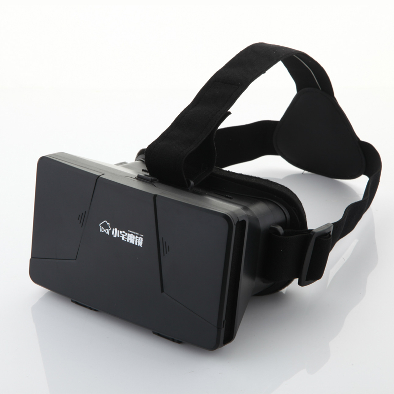 2015 Xiaozhai Brand Virtual Reality Goggles 3D Phone Video Viewer Glasses Cinema Google cardboard Head Mount VR 3D glasses(China (Mainland))