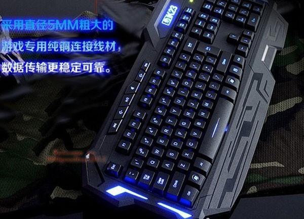 Waterproof Mute Led light Backlit Illuminated Gaming Ergonomic USB Keyboard PC Fashion and Cool Nice gift Keyboards