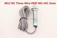Buy 5Pcs M12 DC Three Wire PNP NO+NC 2mm distance measuring Inductive proximity switch sensor LJ12A3-2-Z/CY for $16.15 in AliExpress store