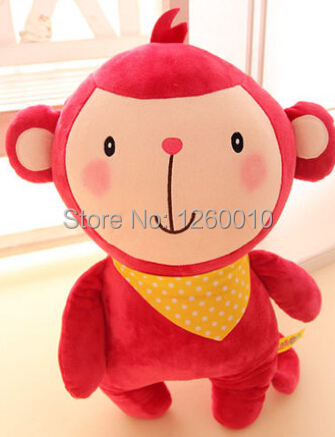 Free shipping 35cm Cute plush dolls happy farm animals Cows rabbit frog chickens toy doll gifts for children(China (Mainland))