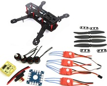 Carbon Fiber Mini QAV250 C250 Quadcopter Motor 12A Esc Flight Control Prop