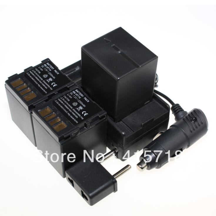 Digital Boy 3pcs BN-VF714 VF714 Replacement Camera Battery+charger kit for JVC BN-VF733 BN-VF707U BN-VF714U BN-VF733U Wholesale()