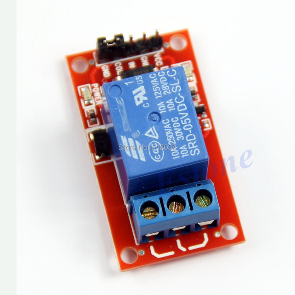 Гаджет  A25 Newest 2014  Level Triger Optocoupler Relay 1-Channel H/LModule for Arduino 5V Free Shipping None Электронные компоненты и материалы