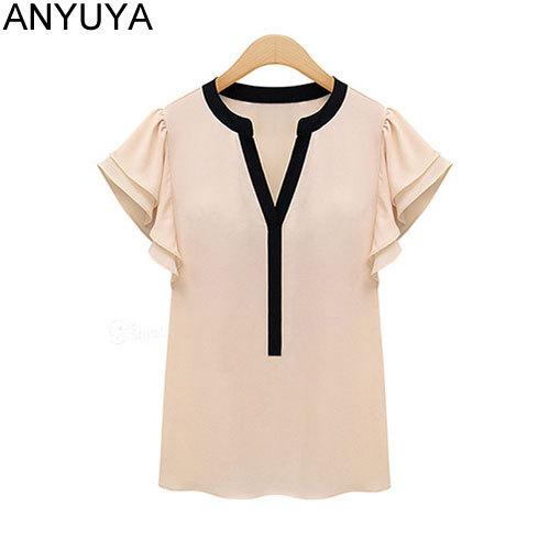 Женские блузки и Рубашки ANYUYA Blusas 2015 v/sm071 женские блузки и рубашки blusas