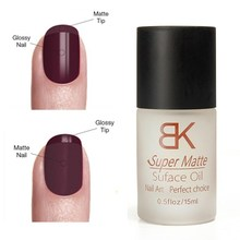 15ml Surface Oil Top Coat Magic Matte Transfiguration Frosted  Manicure Tools Make Nails polish or nail gel Into Matte Color