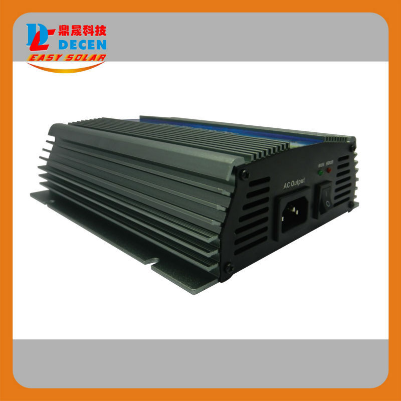 DECEN@ 10.5-30Vdc 600W Solar Grid Tie Inverter Output 90-140Vac,Pure Sine Wave power inverter For Home Solar System(China (Mainland))