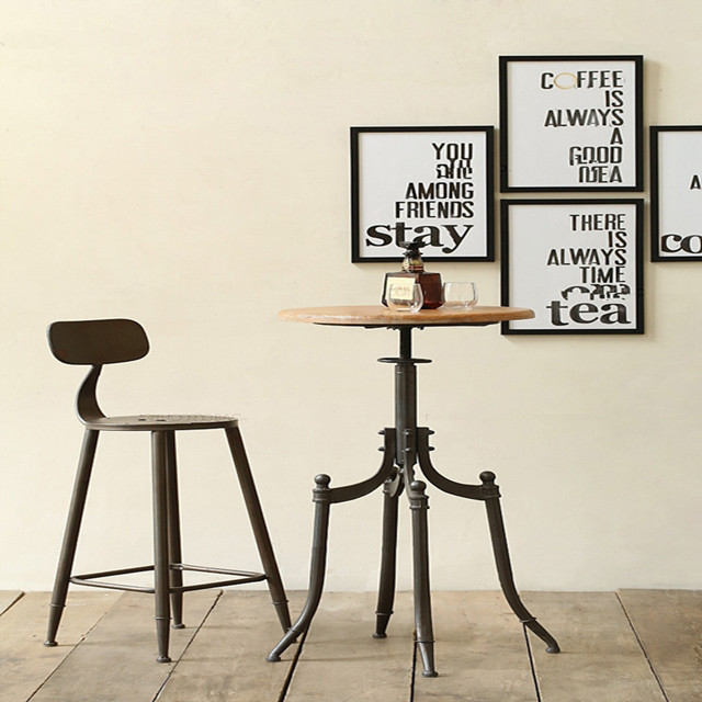 furniture retro coffee tables and chairs combination
