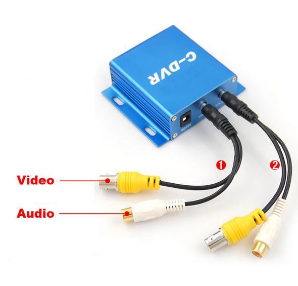 Mini Security DVR Micro Sd Card Recording(European standard plug)
