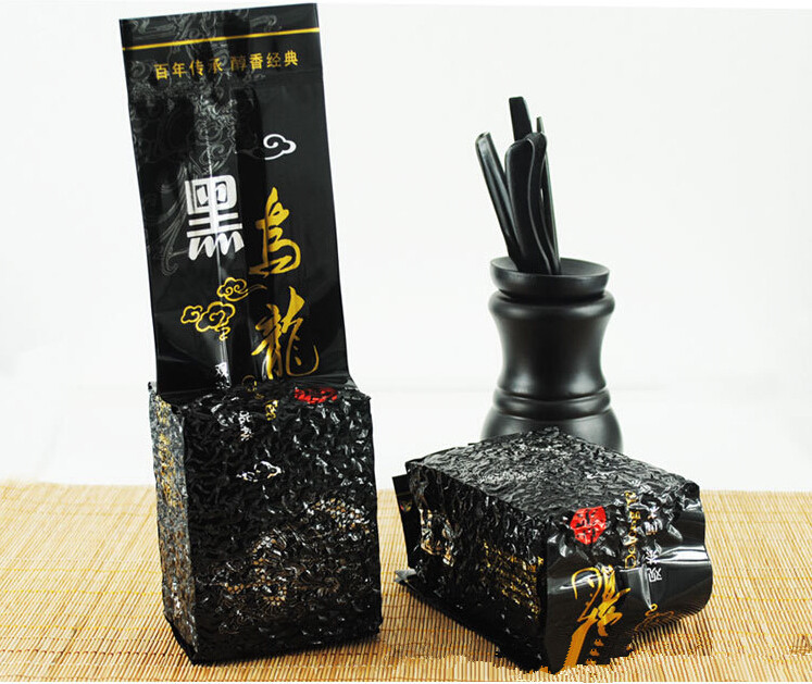 Гаджет  250g Oil Cut Black Oolong Tea, China Weight Loss Tea, Scraper Cellulite Slimming Whitening Beauty Oolong Tea None Еда