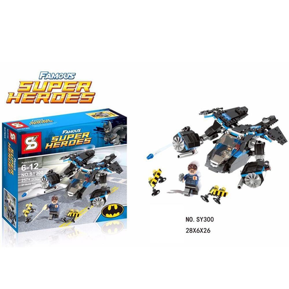 1pcs/lot Batman Warplanes Series Kid Baby Toy Mini Figure Building Blocks Sets Model Toys Minifigures Brick<br><br>Aliexpress