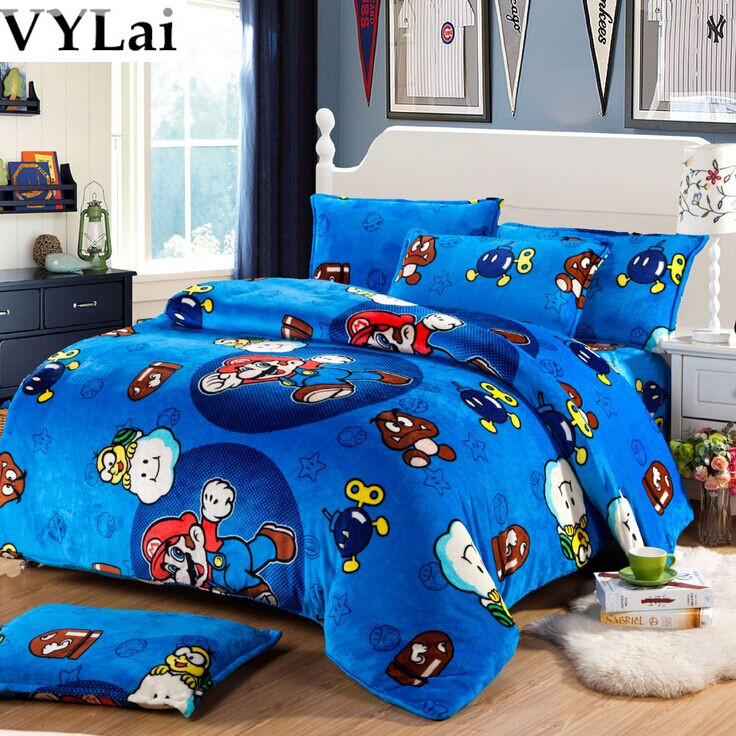 Super Mario Bedding Queen Size