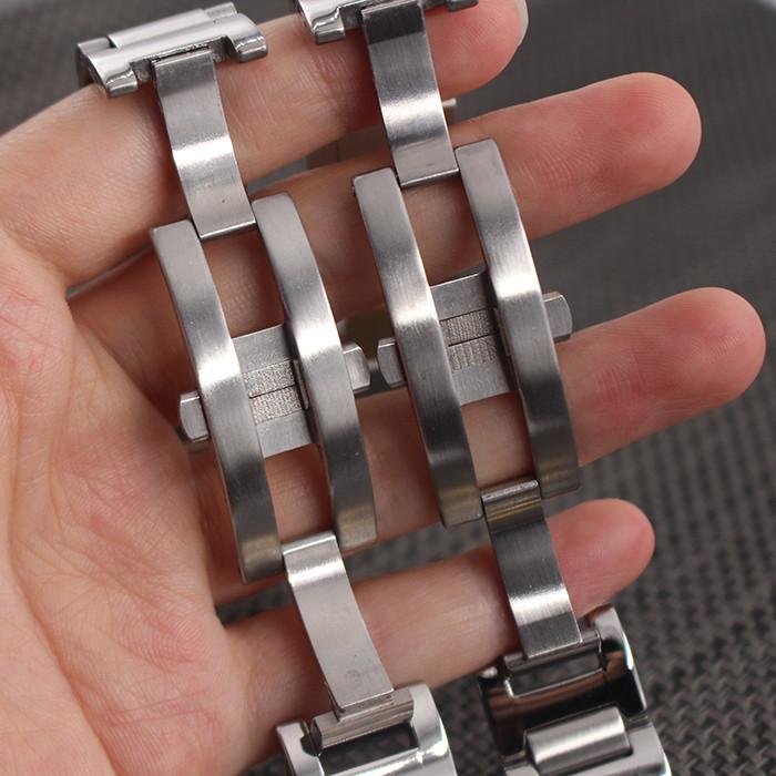 Часы Аксессуары 9 мм 11 мм 12 мм Ремешок Из Нержавеющей Стали Металлические Ремешки Браслеты
