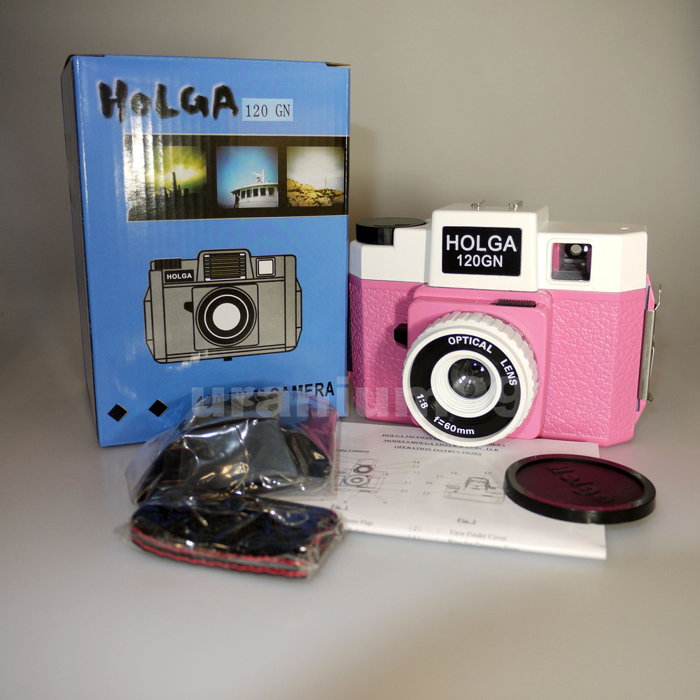 What is the best film for a Holga 120 Color Flash camera?