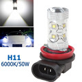 H11 12V 50W 960LM 10 High Power White Light LEDs Car Headlight Fog Lamp