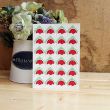 24 pcs/lot DIY fruit Cartoon Corner Cute Paper Stickers for Photo Albums Excellent Handwork Frame Decoration Scrapbooking set(China)