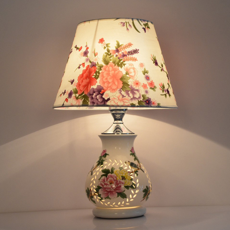 table lamps indoor lighting chinese ceramic bedroom lamp bed