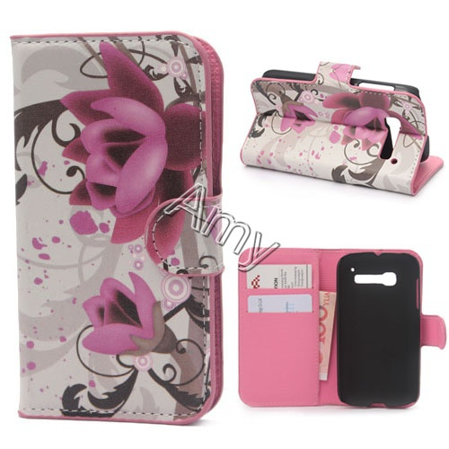 Flip With Stand Wallet Style for alcatel one touch pop c5 5036 phone case for alcatel one touch fierce(China (Mainland))