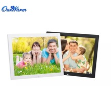 15″ Digital Photo picture Frame Stand HD display LED wireless remote control Music Video MP3 MP4