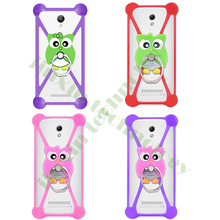 Fashion New Cartoon Ring Stand Holder Soft Silicone Case Zopo ZP530 Cell Phone 3.5 - 5.5 Inch Bumper Frame Cover Serena Mao's store