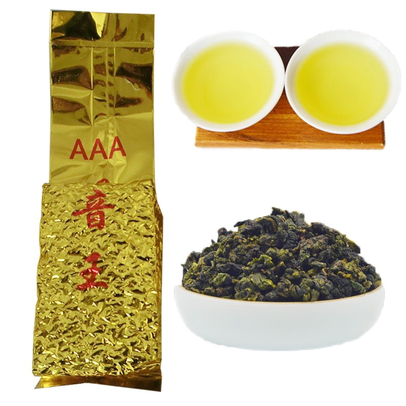250g Top grade Chinese Oolong tea tieguanyin tie guan yin oolong green food new health care products - China Sincerity Trade Co., Ltd. store