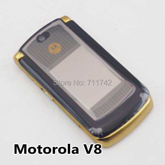 "Original Unlocked Motorola V8 Mobile phone 2.2""TFT Screen 512MB/2GB Refurbished phone Multilingual(China (Mainland))"