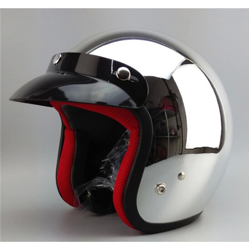 free shipping 2014 new brand motorcycle helmet 3/4 open face vintage motocross helmets ,capacete ,capacete<br>